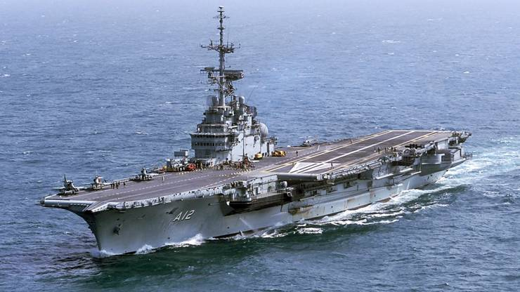 An aircraft carrier on Ebay by Brazil
