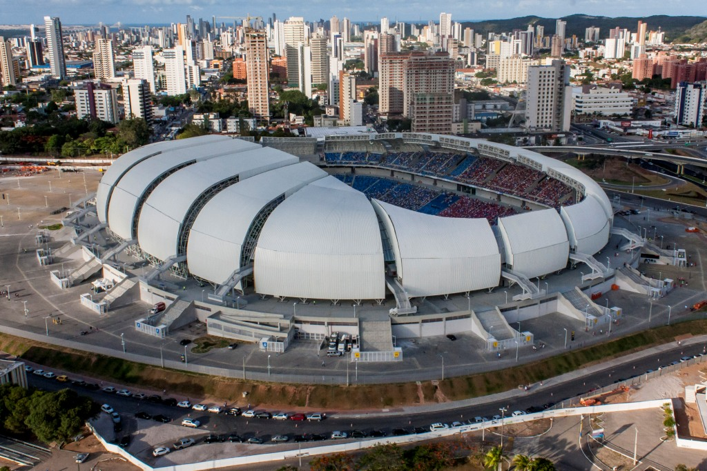 Every city in Brazil has a Soccer stadium