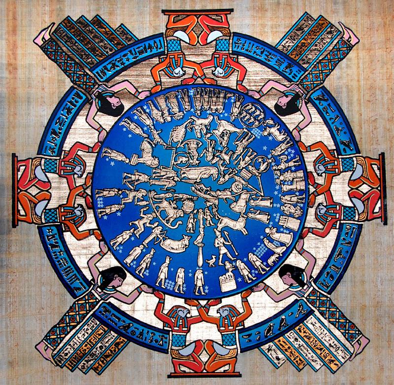 The ancient Egyptian calendar