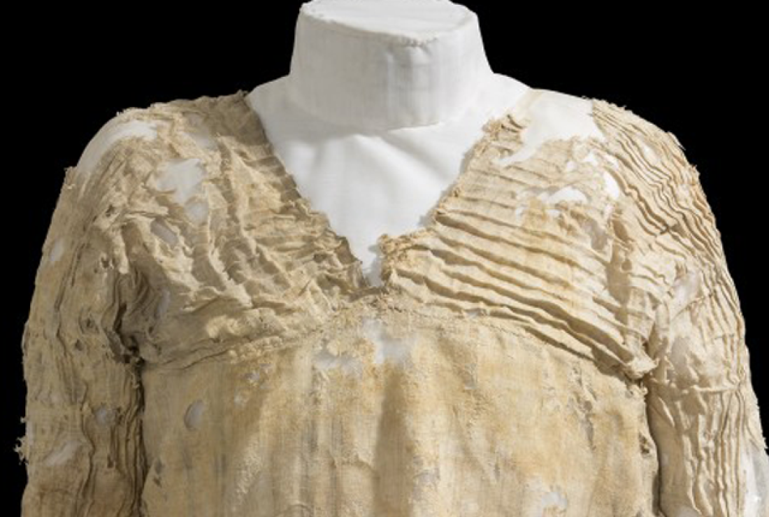 The oldest dress is found in Egypt