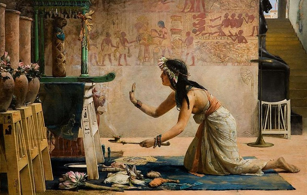 Calico cats were worshiped by Ancient Egyptian culture
