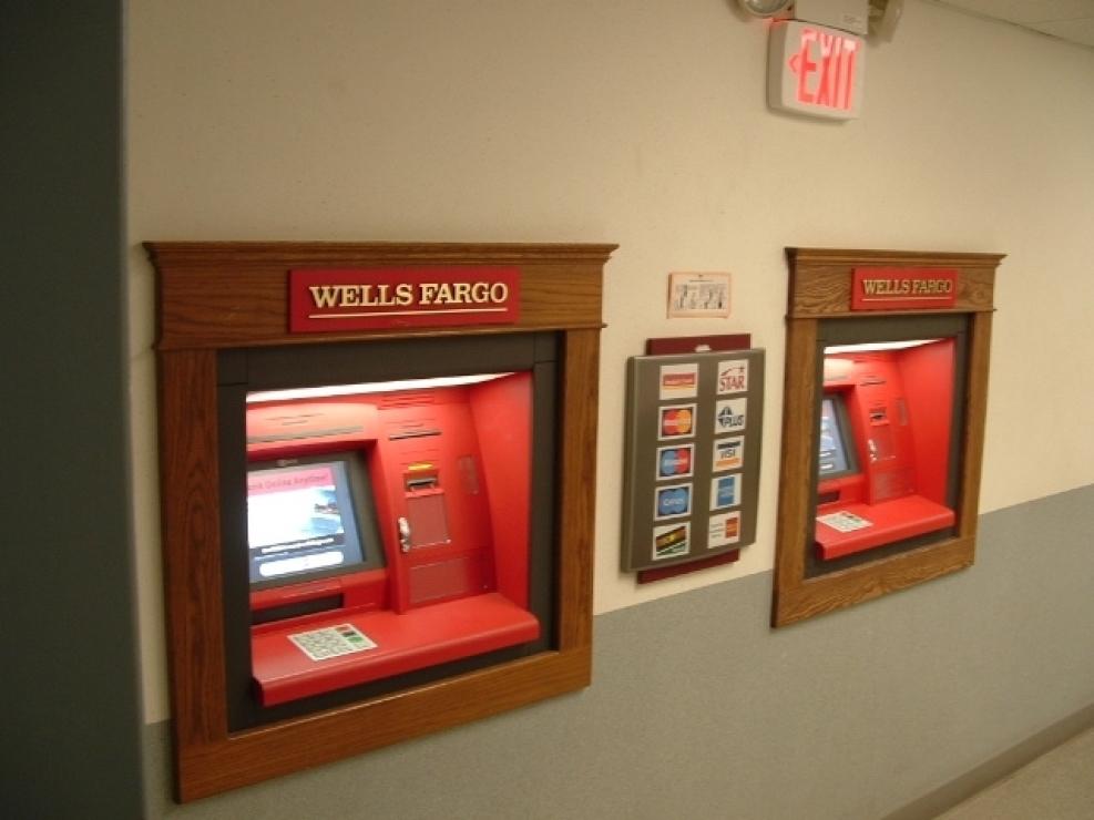 Antarctica has 2 ATMs