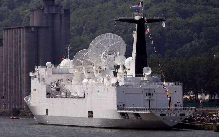 France has the supreme powerful radar ship named Monge.