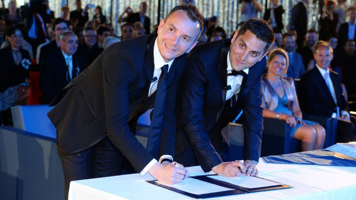 France legalised same-sex marriage in 2013