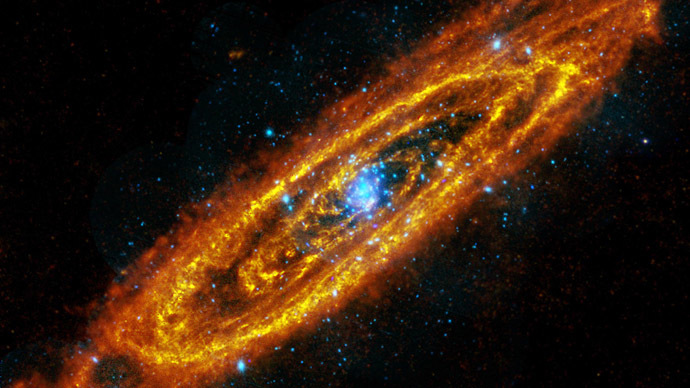 The Andromeda Galaxy is the closest galaxy to us.