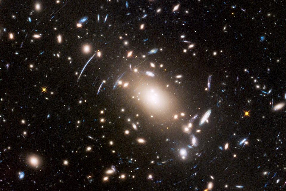 The universe contains over 100 billion galaxies