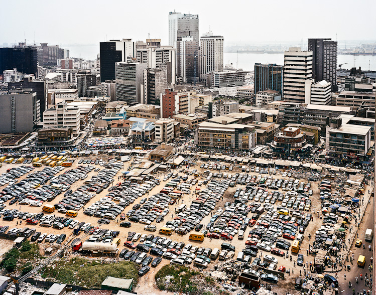 lagos south africa with 8 million people