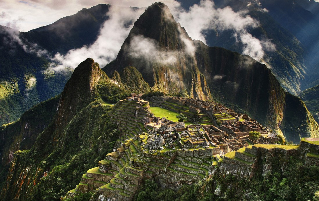 """""""Incas"""" the ancient city occupies 32,592 hectares of mountain slopes and valley"""