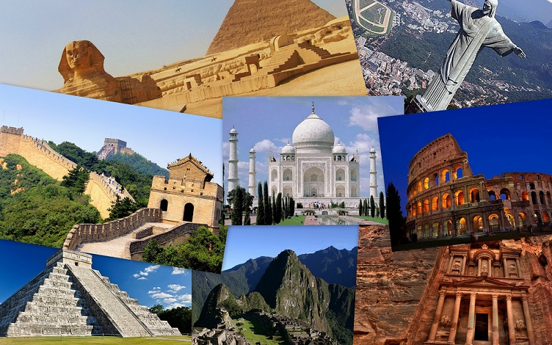 Machu Picchu is signified one of the Seven Wonders of the World.