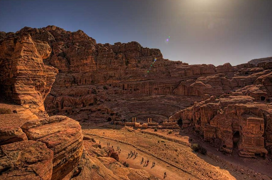 Petra Jordon is also known as Al-Batra in Arabic however, it is famous as Petra