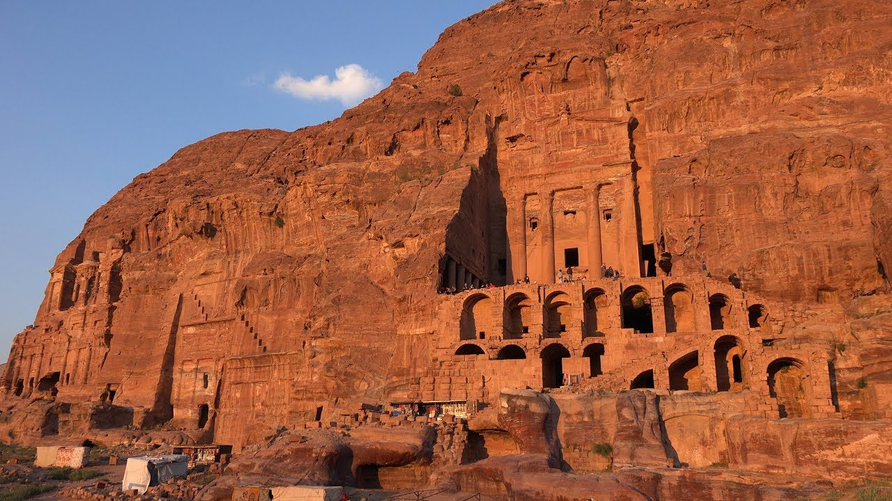 The Crusaders built the Kerak Castle and Al-Karak forts in the Petra