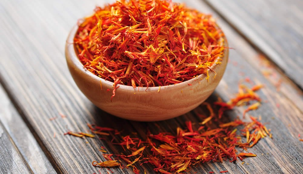 Alexander washed his hair in saffron to keep it orange and shiny.