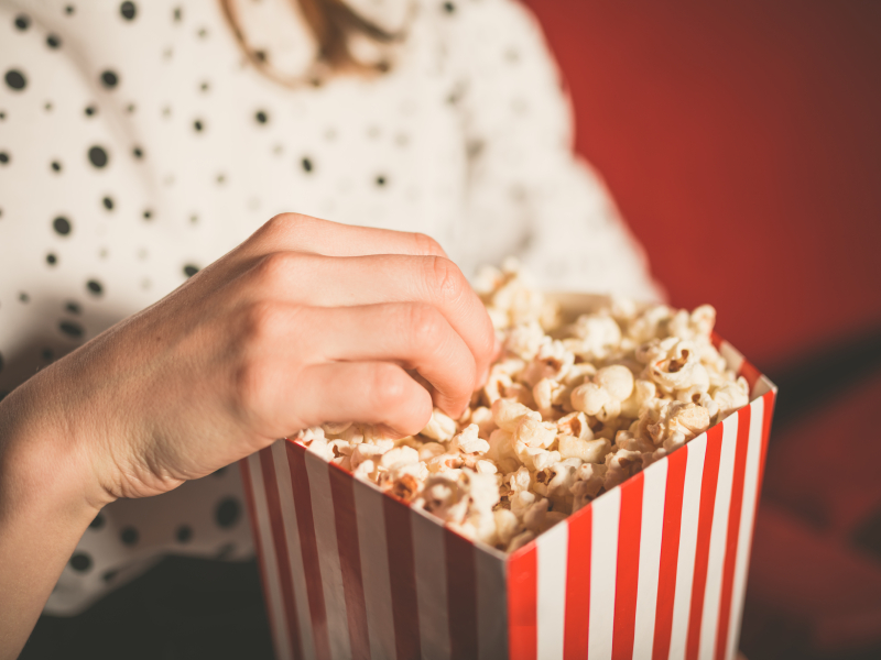 Americans eat approximately 17 billion quarts of popped corn per year - Serious Facts