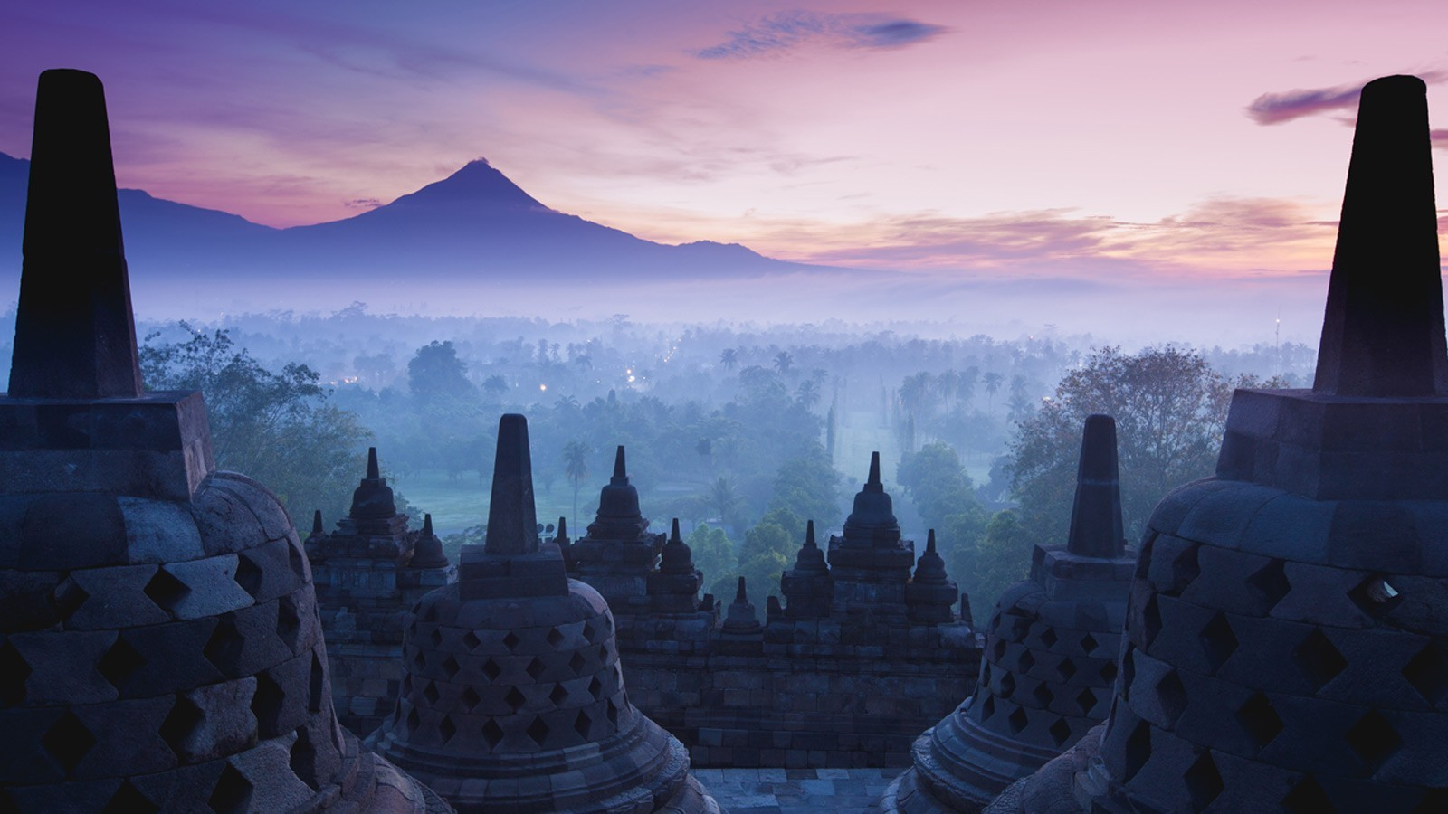 Borobudur (Buddhist temple) is one of the most popular tourist attractions of Indonesia - Serious Facts
