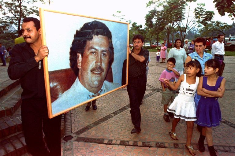 Escobar got the nickname Robin Hood by poor people