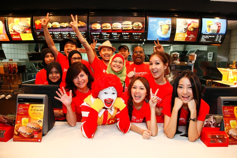 McDonald's appoints around 1 million workers in the US every year.