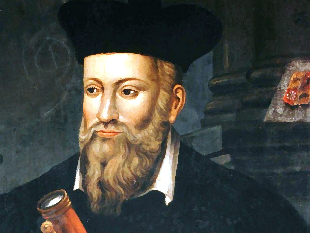 Nostradamus was one of the first plague doctors.