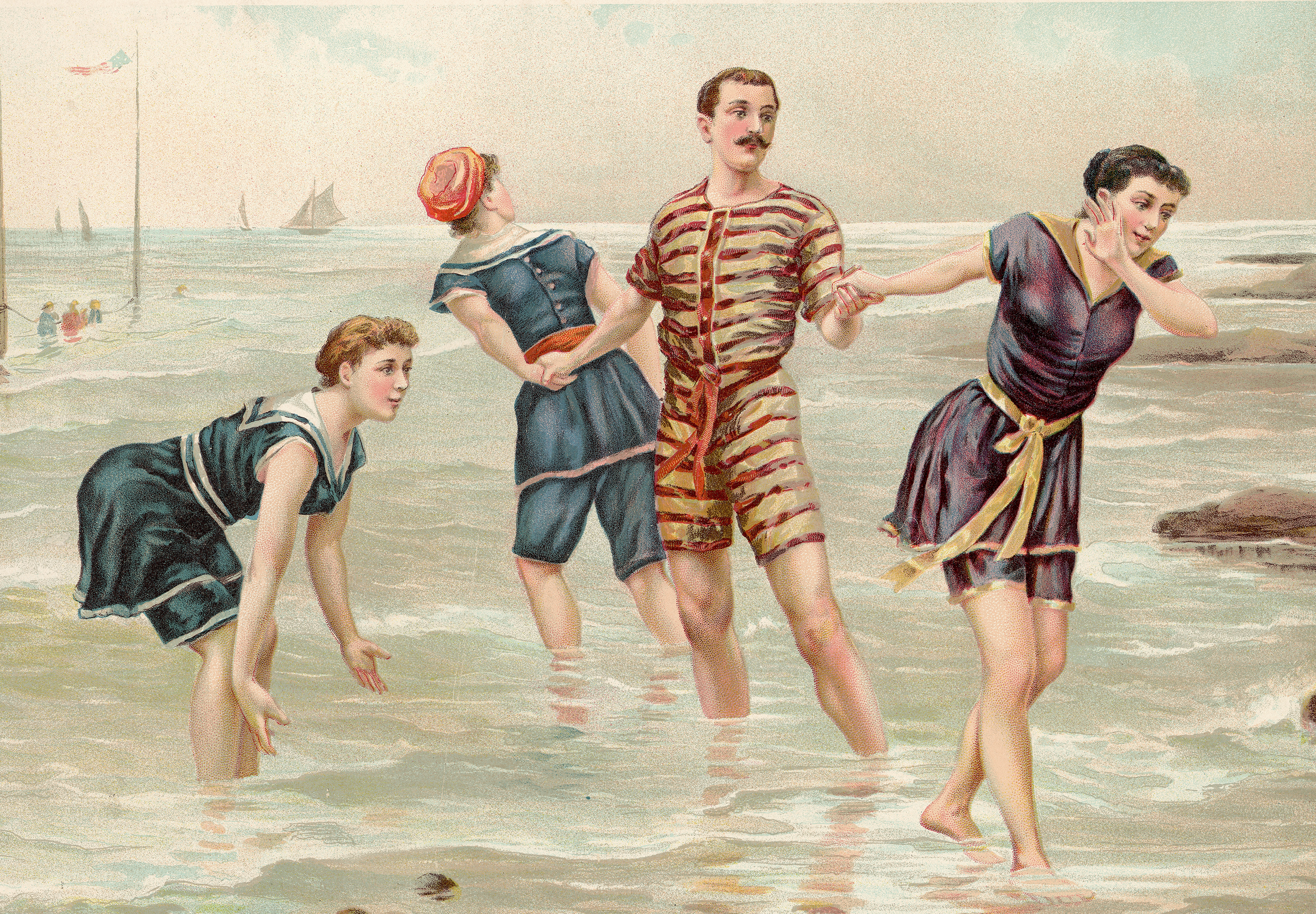 People were discouraged from bathing and changing their clothes in order to avoid engaging in the sin of vanity.