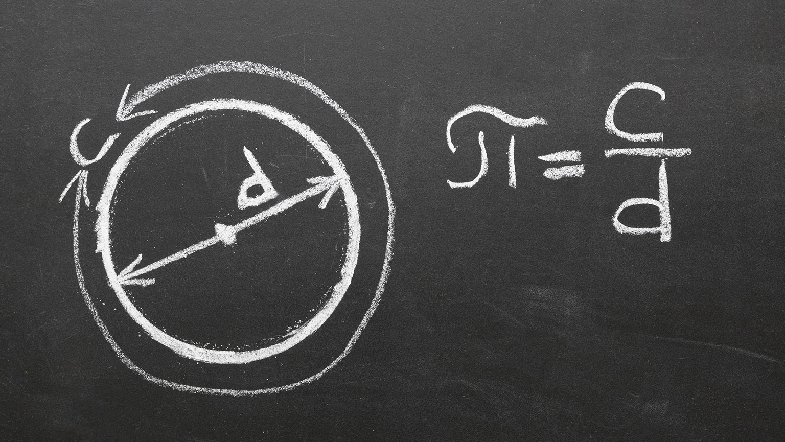 Pi is defined as the ratio of a circle's circumference and its diameter - Serious Facts