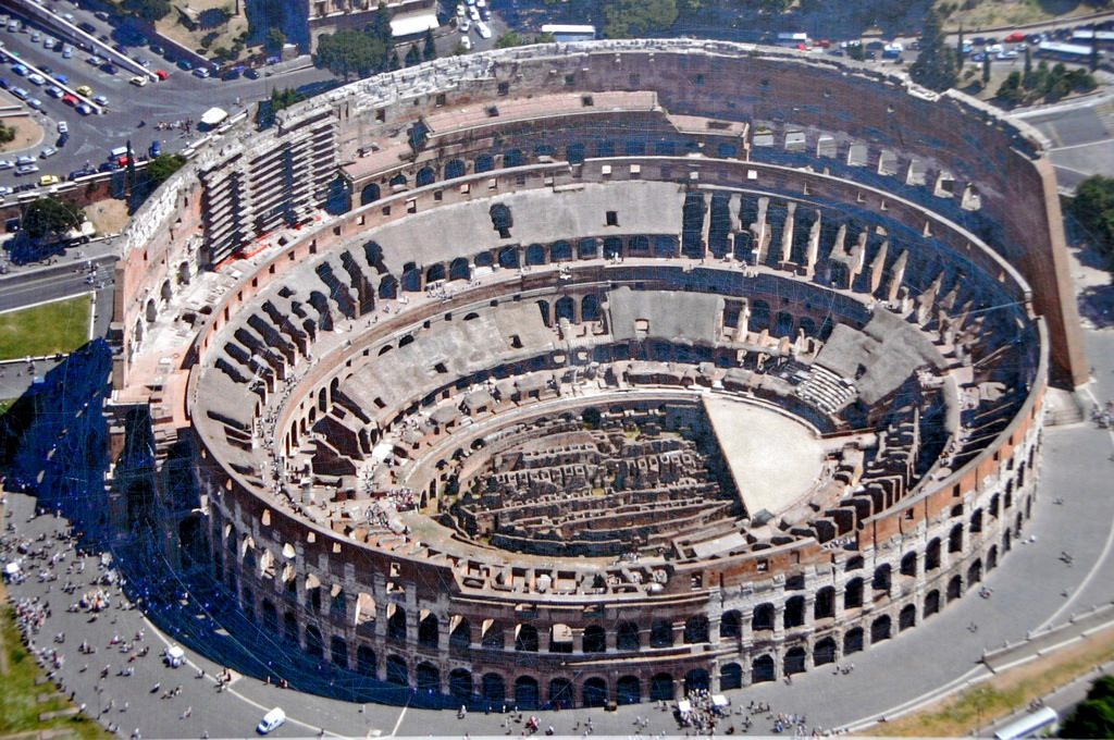 The Tickets to the Colosseum were completely free to the Ancient Romans