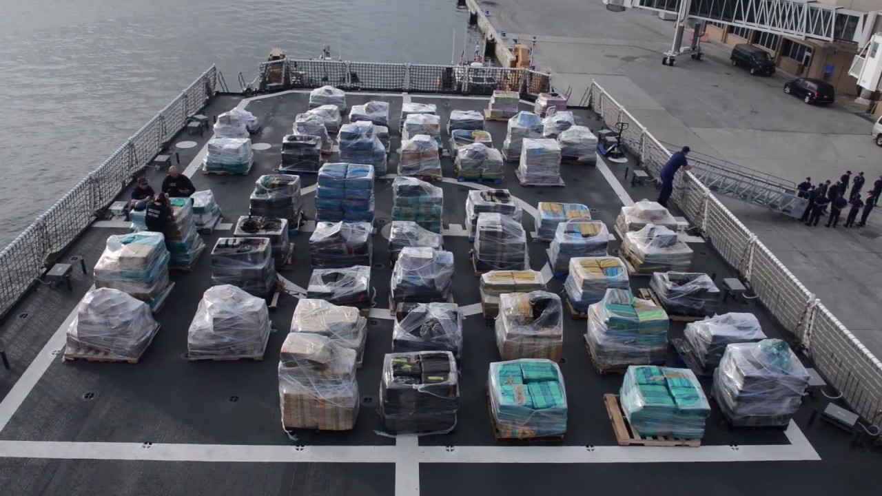 The biggest cocaine shipment ever made in the United States by Escobar weighed around 51,000 pounds.