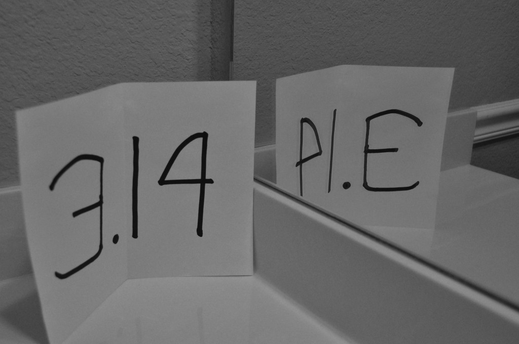 """The mirror image of 3.14 is """"PIE."""" - Serious Facts"""
