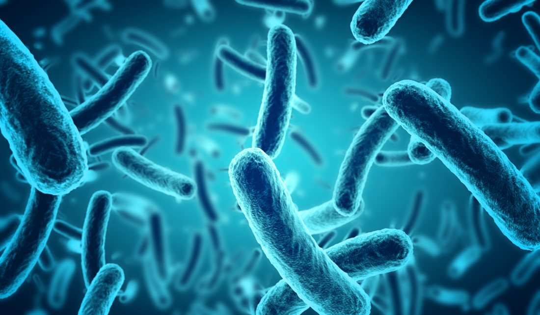 microscopic blue bacteria background - Serious Facts