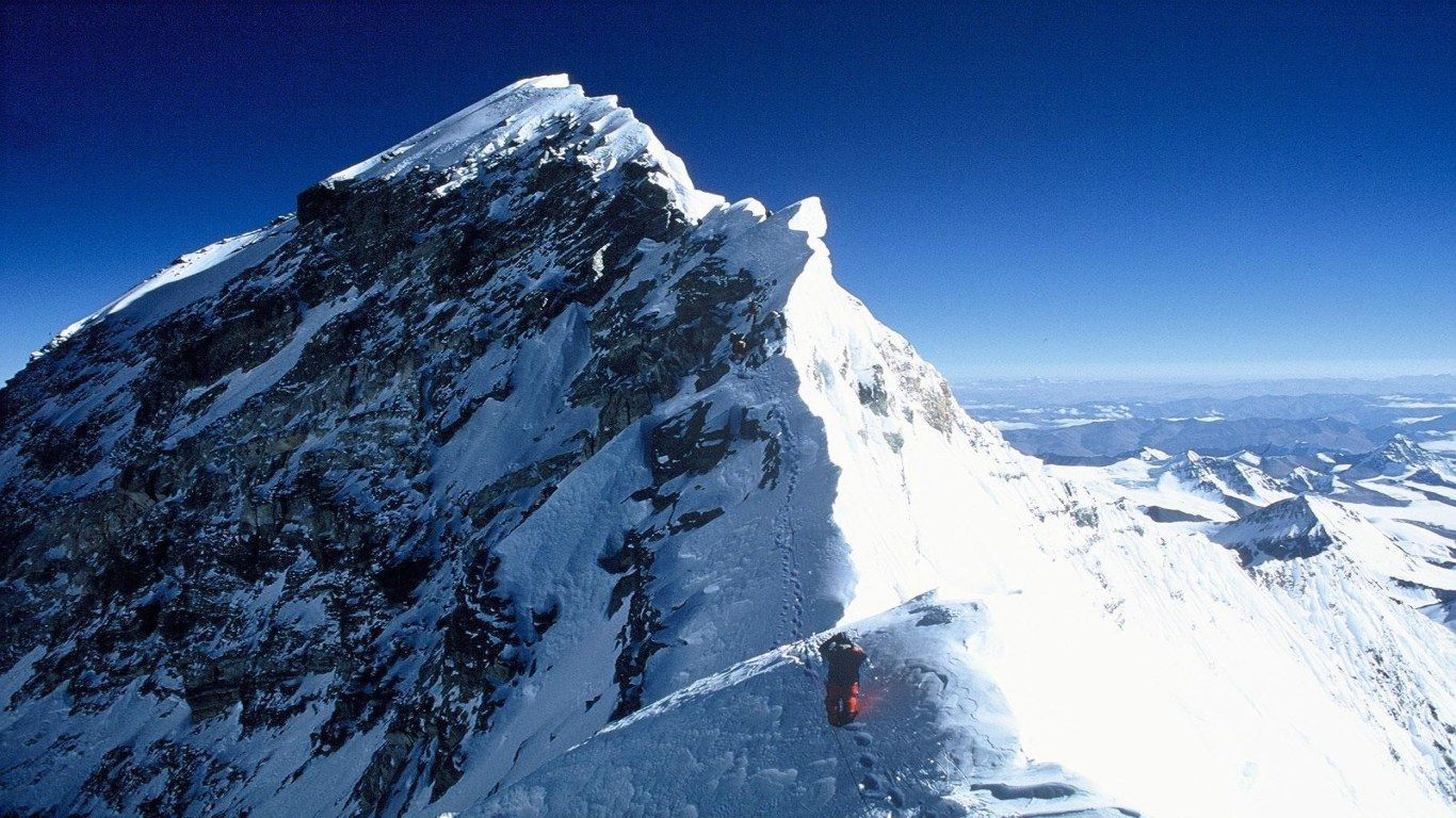 Asia is home to the highest (Mt. Everest) & the lowest (Dead Sea) points on Earth.