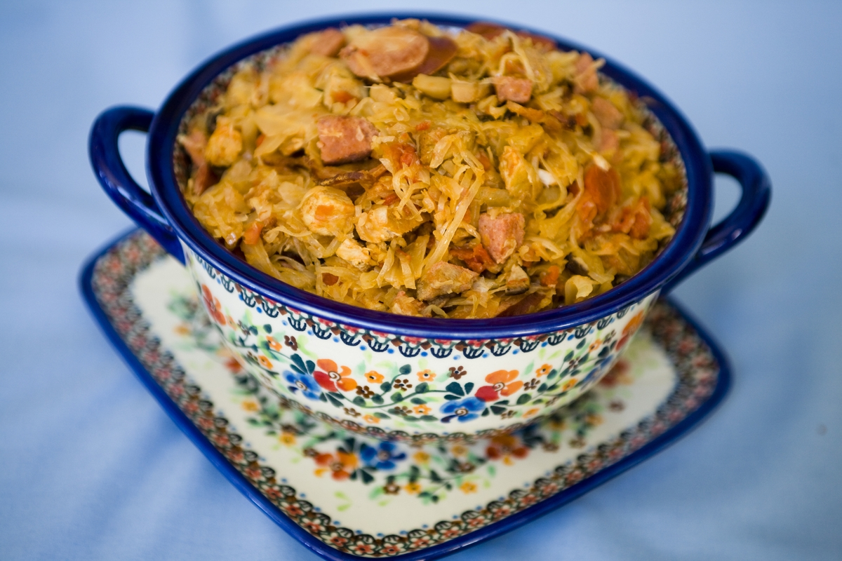 Bigos is the Poland's most popular traditional dish.