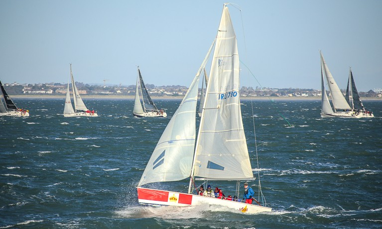 Dublin Bay hosted the first open yacht race in 1663 in the world.