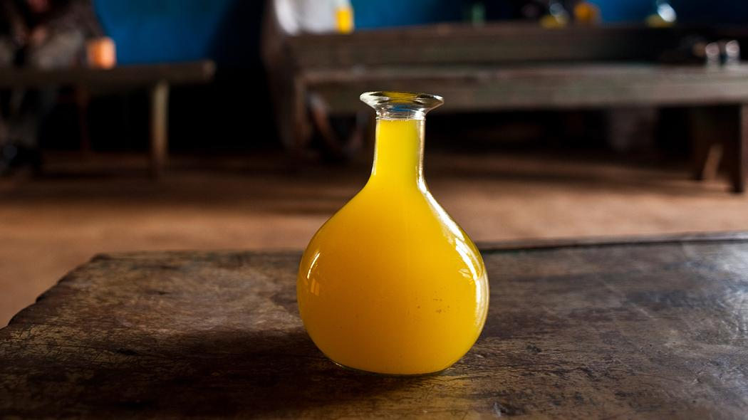 Ethiopia's famous drink is homemade wine made from honey and a shrub is also known as tedj.