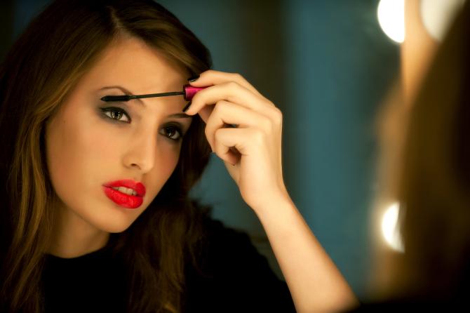 "First waterproof mascara was invented by a Polish women ""Helena Rubinstein""."