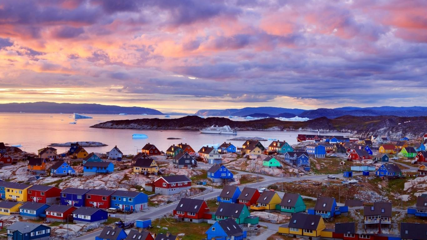Greenland cannot join the FIFA because not enough grass grows for a football field.