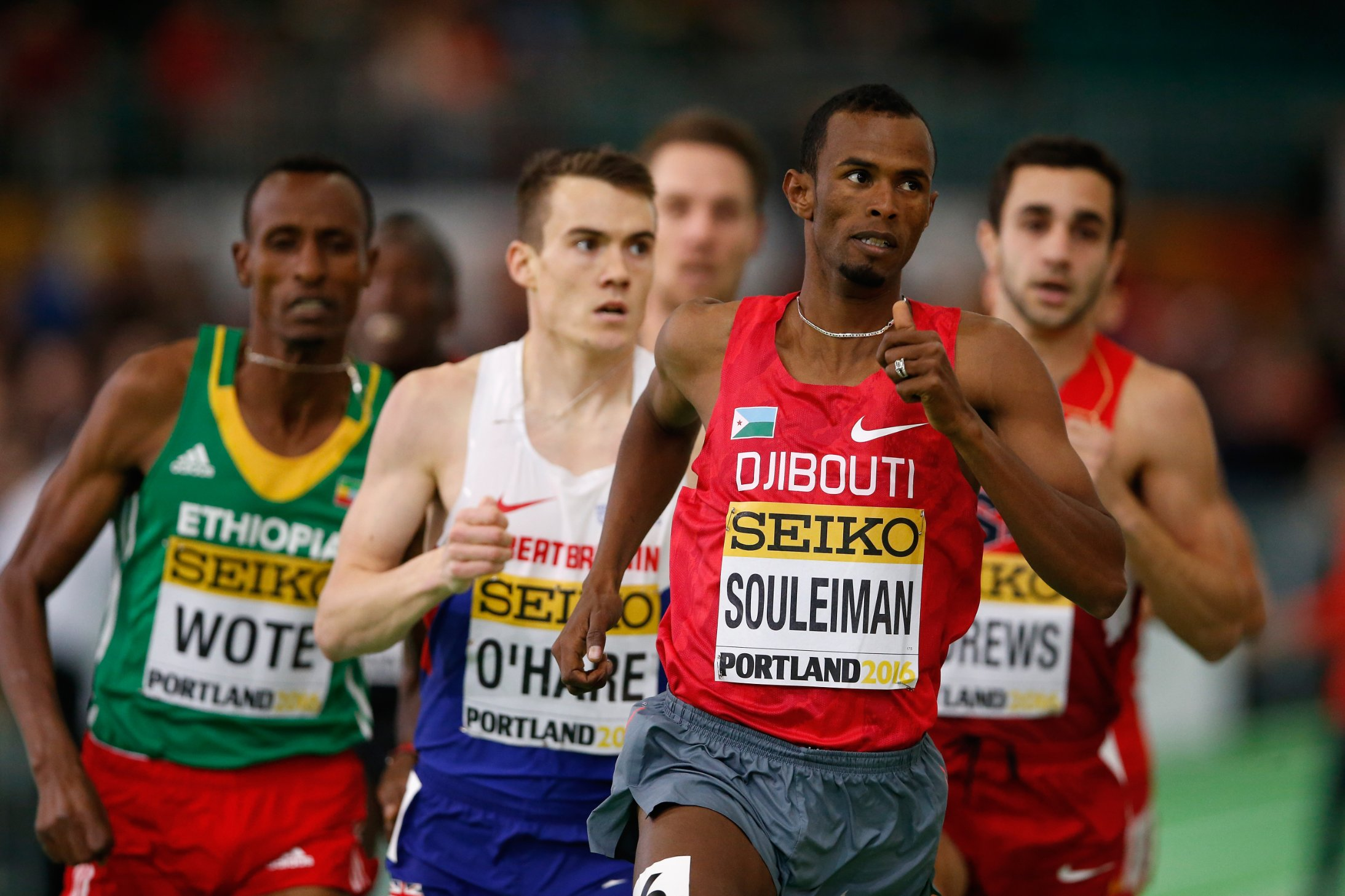 Hussein Ahmed Salah was only who won a bronze medal at the Olympics in the marathon in 1988.
