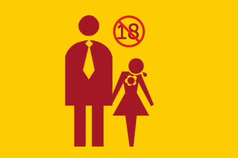 It is prohibited for a girl or boy a to get married before the age of 18 in Ethiopia.