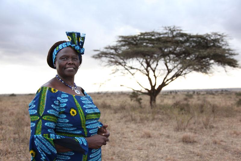 Maathai a first Kenyan environmentalist professor won the Nobel Peace Prize in 2004.