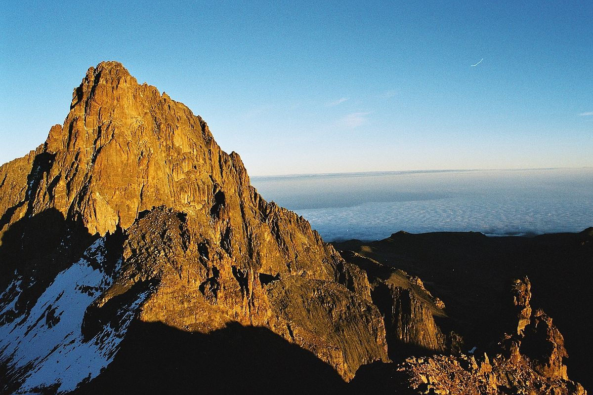 Mt Kenya is the tallest mountain in the country.
