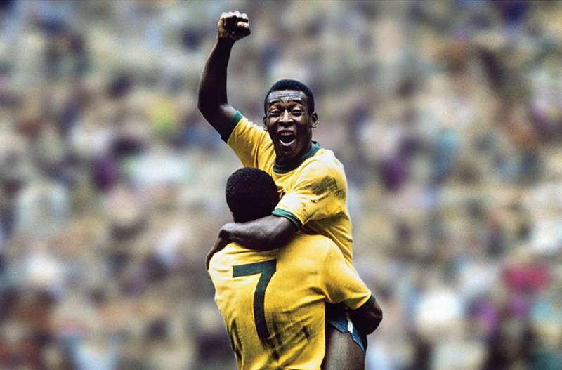 """Pele was the first to call football """"the beautiful game""""."""
