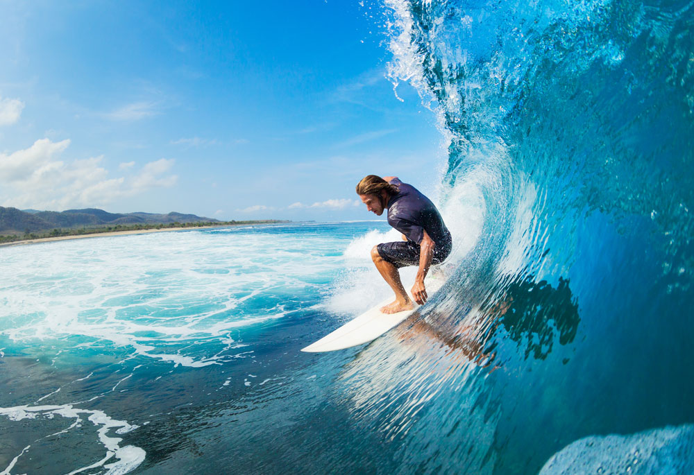 Peru is the best surfing location in the world.