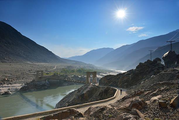 The Karakoram Highway the highest paved international road located Pakistan.