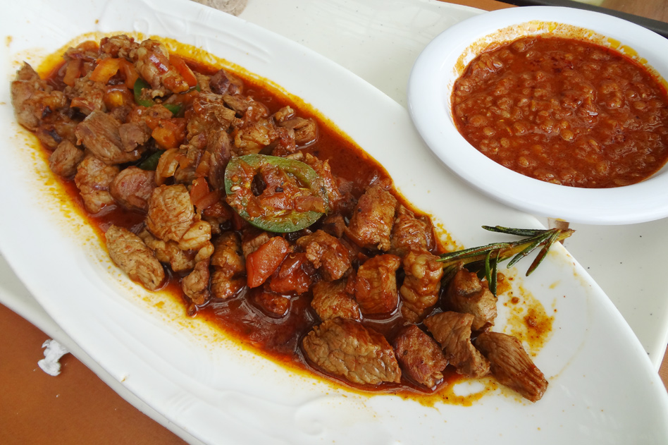 Wot and Injera is the most common dish in Ethiopia.