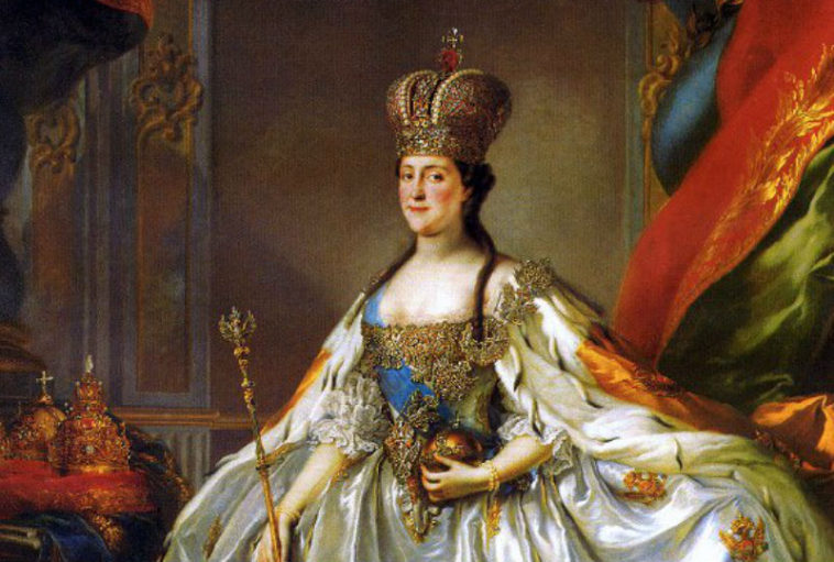 Empress Catherine I of Russia banned women from getting drunk in the 18th century.