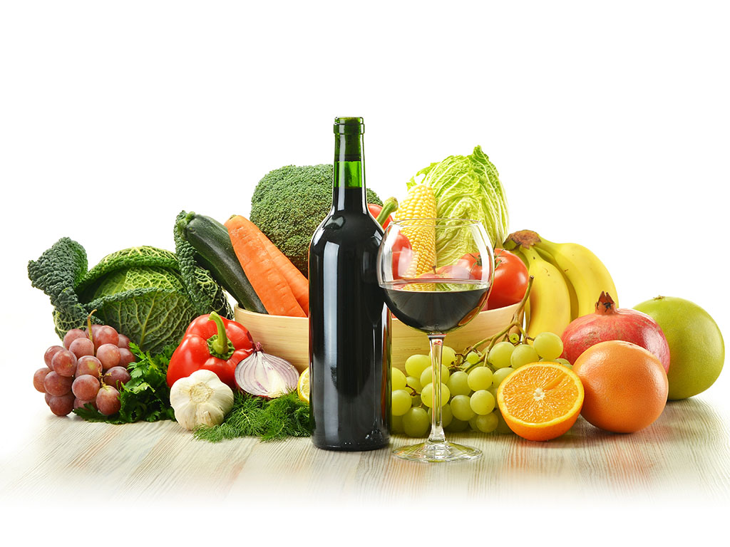 Most fruits and almost all vegetables contain a small amount of alcohol.