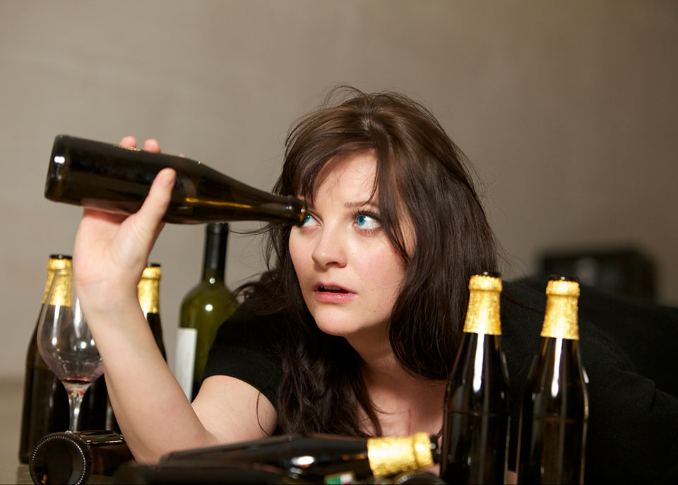 People with blue eyes have a greater alcohol tolerance.