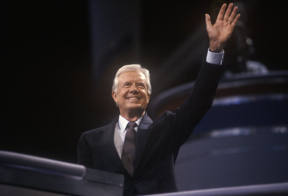 President Carter had the first computer and laser printer installed in the White House in 1978.
