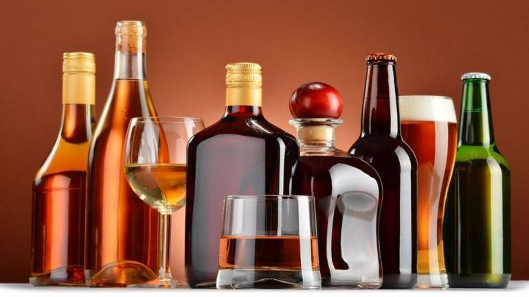 Russian consumes 18 liters of alcohol per year.