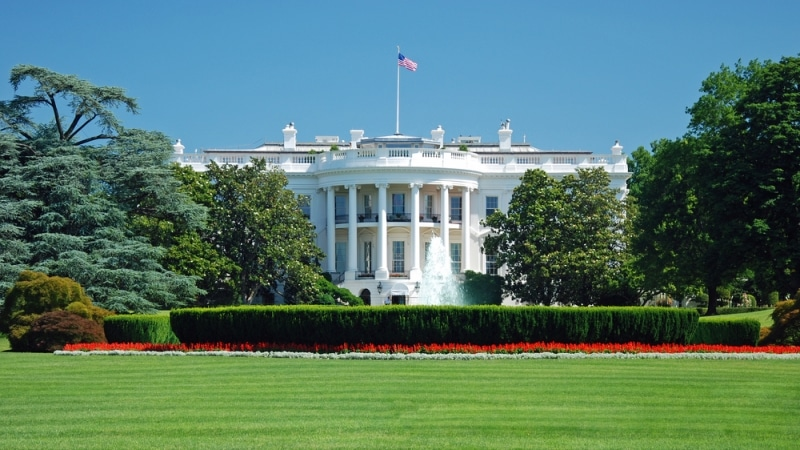The White House and grounds cover just over 18 acres.
