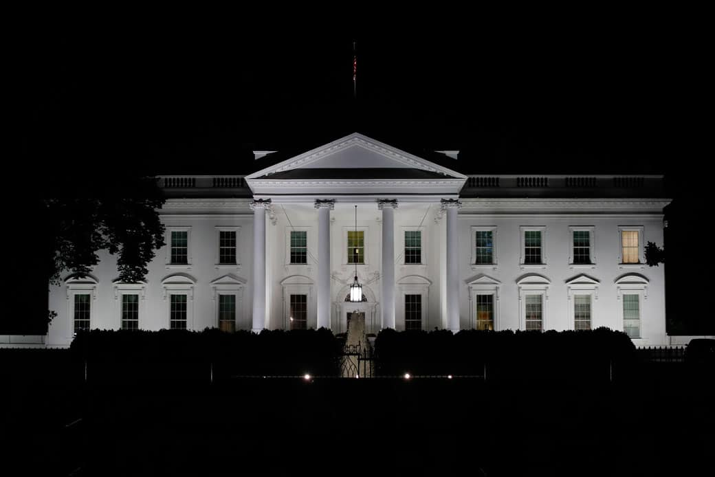 The White House has 412 doors and 147 windows.