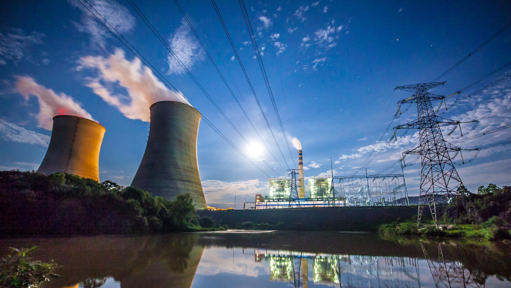 Two thirds of Africa's electricity is produced in South Africa.