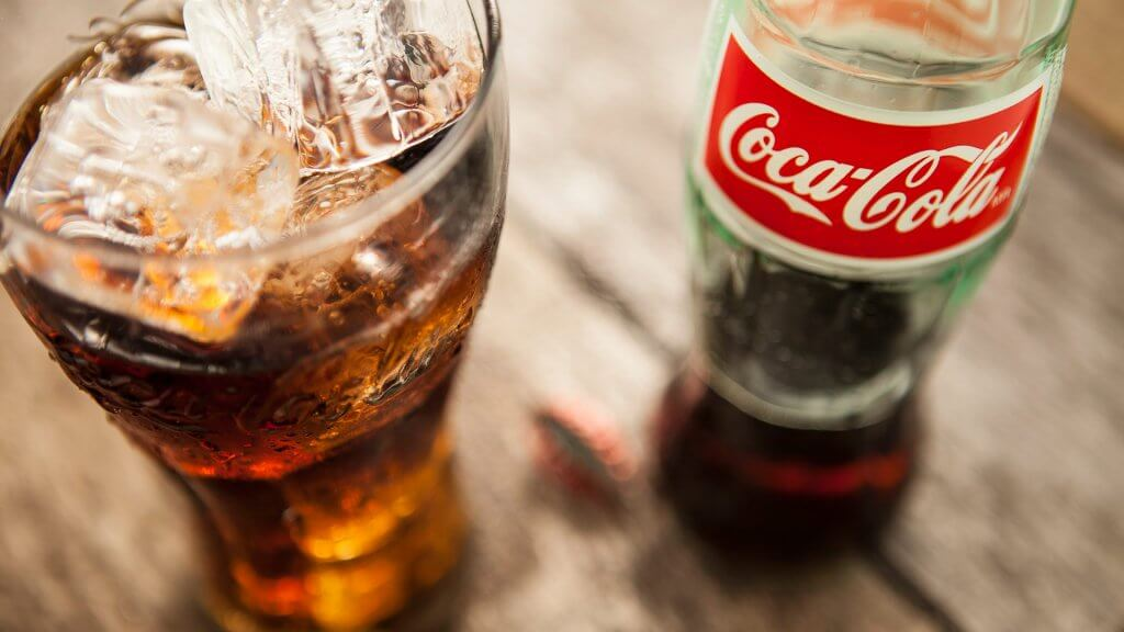 Coca-Cola originally contained an estimated nine milligrams of cocaine per serving, but it has been banned since 1903.